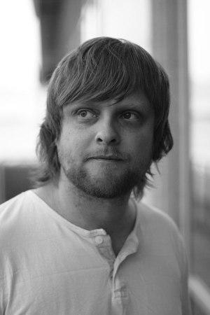 Rune Berg i svart-hvitt